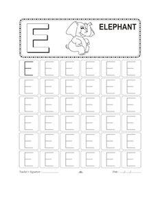 free tracing letter e worksheet all alphabet kids letter tracing worksheets letter writing. Black Bedroom Furniture Sets. Home Design Ideas