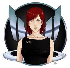 ME2 - Shepard Spectre Logo by Ayshala.deviantart.com on @deviantART #masseffect #femshep