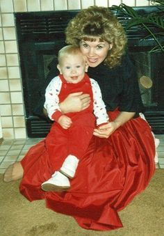 age 29 with my oldest son, vincent when he was 1