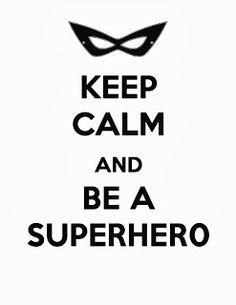 Superhero free printable via Free Time Frolics  #freeprintable use for birthday parties, activities or bedrooms