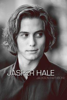 Jasper Hale -> Jackson Rathbone