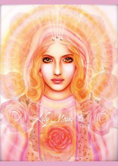Spirit Art Gallery - Browse the Artwork of Lily Moses Sacred Feminine, Divine Feminine, Ufo, Christian Mysticism, Queen Of Heaven, Ascended Masters, Healing Heart, Spirited Art, Mother Goddess
