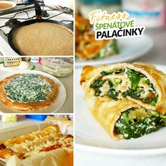 Slané fitness špenátové palačinky - zdravý recept Bajola Leg And Glute Workout, Weight Loss Workout Plan, Lunches And Dinners, Main Meals, Bon Appetit, Good Food, Food And Drink, Low Carb, Vegetarian