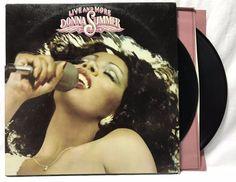 Donna Summer - Live and More - Casablanca NBLP 7119 - LP #Vinyl #Records + card