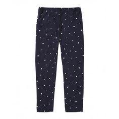 Leggings, in jersey stretch stampati.3HH4I0035 FANTASIA BLUE