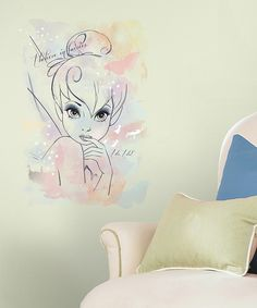 Another great find on #zulily! Tinker Bell 'I Believe in Fairies' Peel & Stick Decal by Disney #zulilyfinds