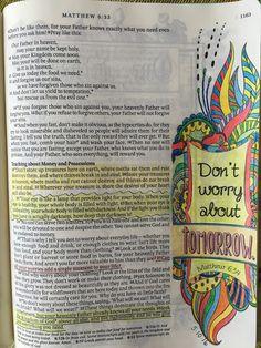 Vintage Grace- Inspire Bible- Don't Worry
