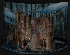 The Tempest- Set, Lighting, and Projection Design by Milinda Weeks, via Behance Set Theatre, Set Design Theatre, Prop Design, Theater, The Glass Menagerie, Stage Set Design, Scenic Design, Screen Design, Artist Life