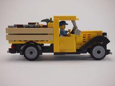 Lego Cars, Lego Plane, Lego Boat, Lego Truck, Lego Auto, Vintage Lego, Vintage Trucks, Lego Machines, Amazing Lego Creations