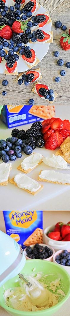 [Ad] Just whip up some cream cheese with vanilla and sugar and you've got the…