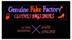 12 Tips Shopping Safely Online. Be aware of #Fake #web #shops