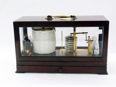A Gluck & Co barograph in mahogany case, with pull-out drawer and extra chart papers Estimate £300.00 to £500.00 (Lot no: 239 in sale on 21/10/2014 - The Cotswold Auction Company )