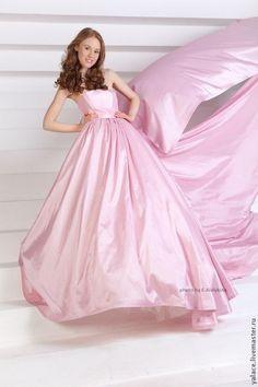 """Свадебное платье """"Пепел Роза"""". Handmade."""