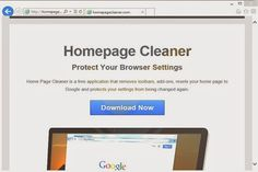 Home Page Cleaner is also called as Homepage Cleaner which is considered to be adware or potentially