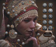 "Breakdown of ""Russian"" – Art in Zbrush Zbrush Character, Character Modeling, 3d Character, Character Design, 3d Modeling, Sculpting Tutorials, Art Tutorials, Character Illustration, Digital Illustration"