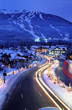 Whistler - Best Ski town in the world? Places Around The World, Oh The Places You'll Go, Places To Travel, Places To Visit, Around The Worlds, Travel Destinations, Beautiful World, Beautiful Places, Canadian Travel