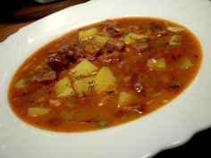 Czech Recipes, Ethnic Recipes, Bon Appetit, Thai Red Curry, Chili, Cooking, Soups, Nova, Blog