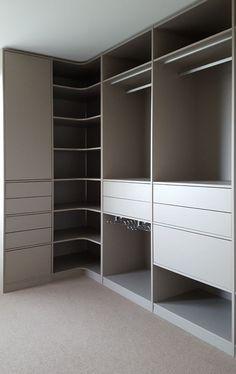 Wardrobe Design Bedroom, Master Bedroom Closet, Bedroom Furniture Design, Bedroom Wardrobe, Wardrobe Closet, Dressing Room Closet, Dressing Room Design, Closet Renovation, Closet Remodel