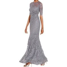 539adcd1f2 Shop for Xscape Womens Evening Dress Glitter Lace. Get free delivery at  Overstock.com