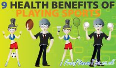 9 Health Benefits Of Playing Sports