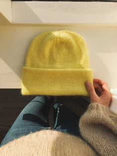 The Oslo Hat - Mohair Edition – PetiteKnit Knitting Projects, Crochet Projects, Mohair Yarn, Knitwear Fashion, How To Purl Knit, Stockinette, Couture, Knit Beanie, Knitted Hats