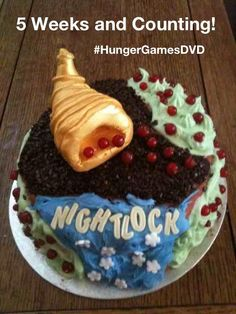 Five weeks and counting for the release of The Hunger Games on DVD
