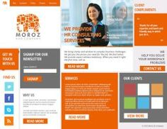 Web design for a HR Consultancy Firm by samadarag
