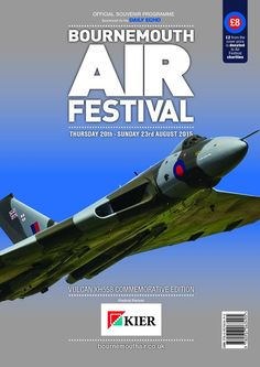 Bournemouth Air Festival at Official Souvenir Programme, 2015 - Buy Online