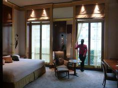 Deluxe King bedroom at the Park Hyatt Vendome