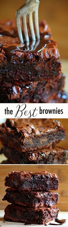 Brownie Mix I have made these chocolate chocolate brownies and they ARE AMAZING!I have made these chocolate chocolate brownies and they ARE AMAZING! Yummy Treats, Delicious Desserts, Sweet Treats, Yummy Food, Healthy Desserts, Sweet Desserts, Quick Simple Desserts, Amazing Dessert Recipes, Simple Snacks