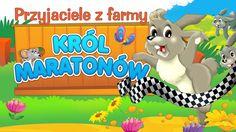 Bajka dla dzieci - Przyjaciele z farmy - Król maratonów