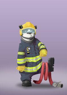 Fireman Panda