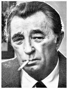 """MITCHUM. Asked his opinion of Robert De Niro, Al Pacino and Jack Nicholson: """"They are all small."""""""