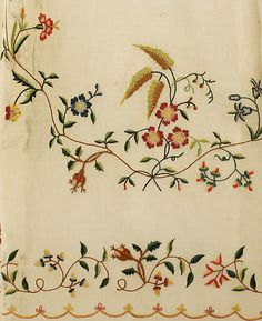 Ensemble Date: ca. 1798 Culture: probably European Medium: cotton, silk