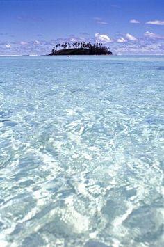 Motu in Muri lagoon, Rarotonga, Cook Islands | Flickr - Photo Sharing!