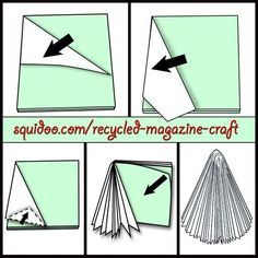 A very good tutorial for making a tree out of a magazine! http://www.squidoo.com/recycled-magazine-craft Thanks Mickie_G for the first pin! http://pinterest.com/mickie_g/: