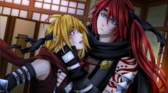 Shall we Date? Ninja Shadow Ukyo and I on the Mission (His face is so funny ^-^ and cute)
