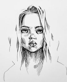 Amazing Learn To Draw Eyes Ideas. Astounding Learn To Draw Eyes Ideas. Portrait Sketches, Portrait Illustration, Art And Illustration, Drawing Sketches, Art Drawings, Sketch Ink, Drawing Drawing, Drawing Faces, Human Face Sketch
