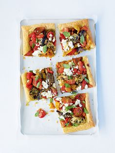 This Italian-style tart is an ideal lunch or supper dish. Alternatively, serve it as the starter at a dinner party.