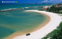 Praia de Tabatinga - Nisia Floresta (Rio Grande do Norte) www.italianobrasileiro.com