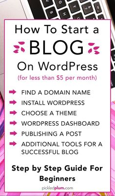 How To Start A Blog On WordPress - How to start a blog in 15 minutes - Anyone can make money online, you can start as early as right now! That's exactly what I did 6 years ago and since then, blogging has completely changed my life! I was able to turn a