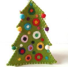 a few pretty things: Handmade christmas ornaments