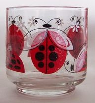 Ladybug glasses by Libby