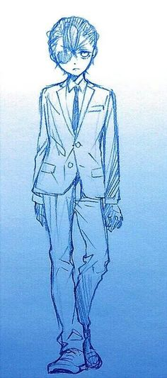 [BY YANA TOBOSO] Eh? He looks tall! No he can't be tall it's ruining THE IMAGE!