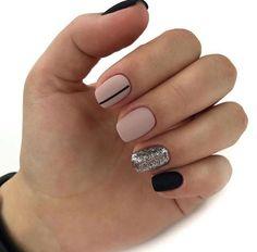 Incredible nail design Inspiring Ladies is part of nails - nails Chic Nails, Classy Nails, Fancy Nails, Stylish Nails, Simple Nails, Trendy Nails, Swag Nails, Pink Nails, Gel Nails