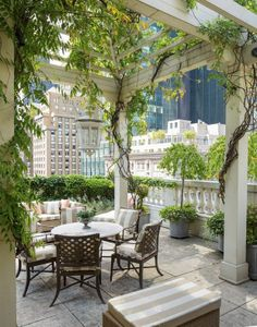 Mario Buatta Home | loveisspeed - Mario Buatta's home | Exterior - pool and patio area