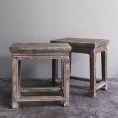 New in - Pair of side tables ❤️❤️ Home Furnishing Accessories, Home Furnishings, Growth And Decay, Wabi Sabi, Side Tables, Im Not Perfect, Indoor, Asian, Mood