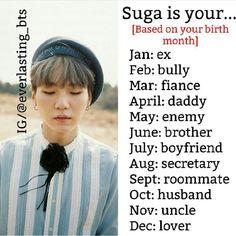 Whyyyyyyy my bully when I love u oppa😔😢😭 Bts Zodiac Signs, Birthday Scenario, Game Bts, Bts Scenarios, Bts Birthdays, Bts Imagine, Learn Korean, About Bts, I Love Bts