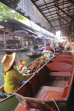 Floating City Thailand. A must see. #travel with http://adventuresuncorked.com/