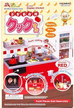 Re-Ment Kitchen Display Miniature Box Puchi Petites